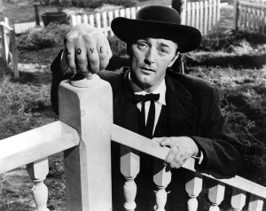 Robert Mitchum displaying some of Agee's creativity.